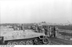 Field Marshal Rundstedt visiting troops of the German SS Panzer Division Hitlerjugend, Northern France, Jan photo 1 of note SdKfz. Panzer Iv, Luftwaffe, Budapest, Erwin Rommel, Field Marshal, Germany Ww2, Ww2 Photos, Military Modelling, Army Vehicles