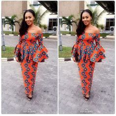 Creative Ankara Skirt and Blouse Style - DeZango Fashion Zone