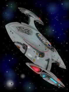 Star Trek Starships, Star Trek Enterprise, Trek Ideas, Star Trex, Futuristic Cars, Futuristic Vehicles, Starfleet Academy, Starfleet Ships, Space Movies
