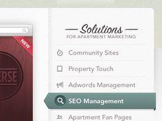 Exquisite Sidebar Design in Website Layouts / Design Tickle