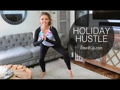 NEW WORKOUT: Do the Holiday Hustle!