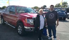 Terry, we're so excited for all the places you'll go in your 2011 FORD F-150!  Safe travels and best wishes on behalf of Kunes Country Ford Lincoln of Delavan and DEANNA KLOSTERMAN.