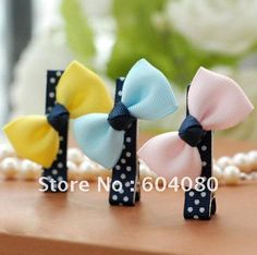 Cute-Cheap-Girls-Ribbon-Bowknot-Bobby-Pin-Children-Hair-Clips-Baby-Hair-Bows-3-Colors-FJ106.jpg 555×552 pixels