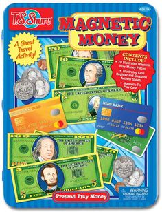 T.S. Shure Pretend Play Money Play Set  #toy #money #kids #learning aff link