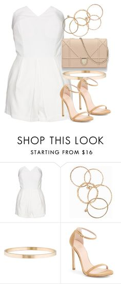 """""""Style  #10932"""" by vany-alvarado ❤ liked on Polyvore featuring NLY Trend, NLY Accessories, Tiffany & Co. and Stuart Weitzman"""
