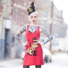 Gummy bear fashion! Model:Carrie Jo photo: david Savoie Photography #fashion #getugly
