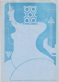 letterhead - Stacia, 1973