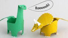 Des dinosaures rigolos