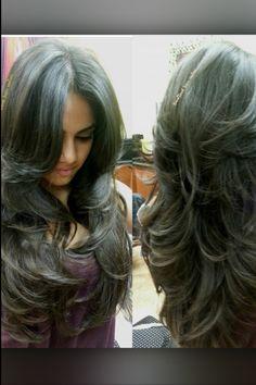 lush and sexy hair! Love, love, love it