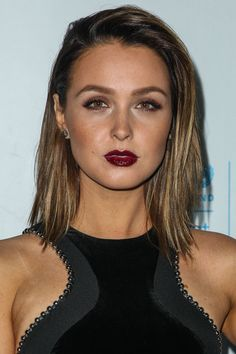 Camilla Luddington attends the 2015 UNICEF Black & White Masquerade Ball http://celebs-life.com/camilla-luddington-attends-the-2015-unicef-black-white-masquerade-ball/  #camillaluddington