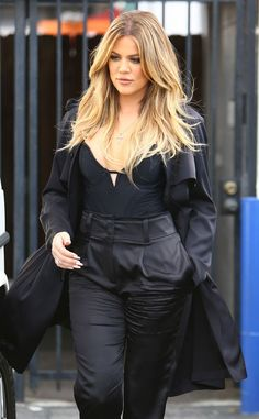 Khloe Kardashian hair- don't like this family but their hair are always done right
