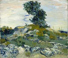 Vincent Van Gogh - The Rocks -1888