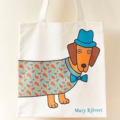 Larry the Long Bag by MaryKilvert on Etsy