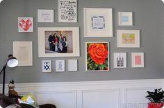 Darling gallery wall tutorial