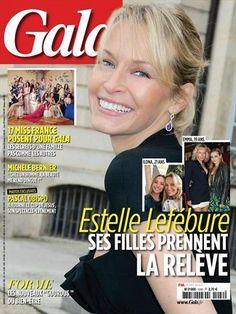 Estelle Lefébure : ses filles prennent la relève - Gala - Numéro 1242