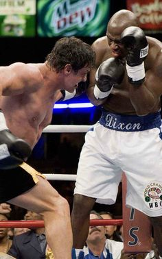 Rocky Balboa fights Mason Dixon
