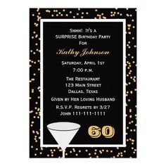 Custom Birthday Party Invitation -- 90 and Confetti created by henishouseofpaper. This invitation design is available on many paper types and is completely custom printed. 60th Birthday Party Invitations, 90th Birthday Parties, Adult Birthday Party, Birthday Gifts, Invites, Birthday Ideas, Fifty Birthday, Birthday Celebration, Party Favors
