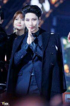 Lee Taemin looking thug like always
