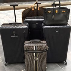 Travel in style Goyard Goyard Bag, Tote Bag, Designer Luggage, Rimowa, Hermes, Luggage Accessories, Luxe Life, Travel Wardrobe, Luggage Sets