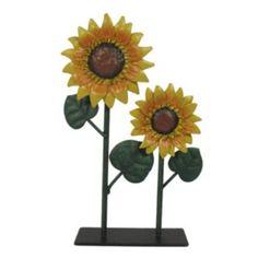 SONOMA life + style Metal Sunflower 2-Photo Clip
