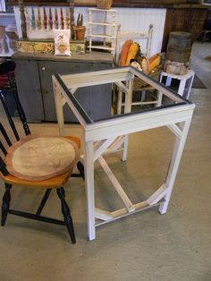 We are happy to introduce our Standing Floor Frame for Rug Hooking ~ from Notforgotten Farm™ This Floor Stand, like ALL of our wood products, is made from our own Tulip Poplar trees that are meticulously chosen from our beautiful, replenish-able woods here at Notforgotten Farm. The