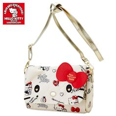 Hello Kitty 40th Anniversary 40th Hug Shoulder Bag SANRIO JAPAN