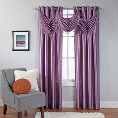 Look at this Lilac Rivington Curtain Panel by belle maison Decor, Home Furnishings, Home, Indoor Outdoor Furniture, Curtains, Grommet Panels, Paneling, Furnishings, Waterfall Valance