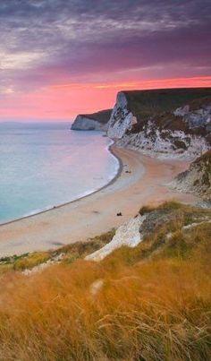 Unusual looking beaches