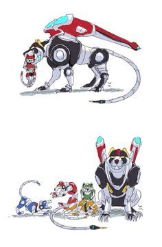 Voltron I can't even...it's too cute...