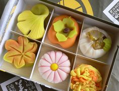 Japanese wagashi :: I wonder if I could get some of these shipped to me? I live in the Boonies and can't get any locally.