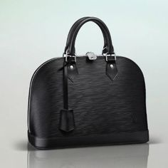 louis vuitton, alma black
