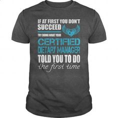 Awesome Tee For Certified Dietary Manager - #sweater #long sleeve shirt. BUY NOW => https://www.sunfrog.com/LifeStyle/Awesome-Tee-For-Certified-Dietary-Manager-164746323-Dark-Grey-Guys.html?60505