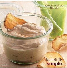 Tastefully Simple Fall-Winter 2014 Creamy Buffalo Dip Mix