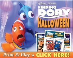 Finding Dory Hallowe