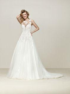 Vestido de noiva clássico e feminino - Droel