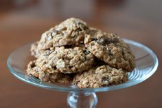 Unbelievable Eggless Oatmeal Raisin Cookies!  I substituted1/2 cup of raisins for white chocolate chips...delish!!!