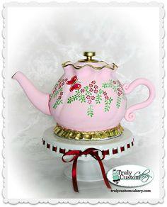 Edible Art | Truly Custom Cakery, Teapot.