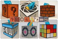 Gaming Geek Tissue Boxes
