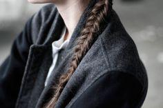 Braid on felten shoulder