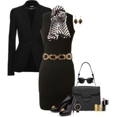 STRICTLY BUSINESS by lisa-holt on Polyvore featuring Alexander McQueen, Kimberly McDonald, 2b bebe and Forever 21