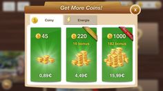 Buy coins to unlock special game content.