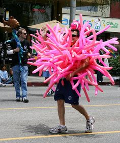 Under the sea at West Hollywood Gay Pride Parade 2009