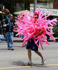 Under the sea at West Hollywood Gay Pride Parade 2009
