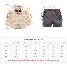 Brand Name: ToysZoom Department Name: Baby Item Type: Sets Collar: Turn-down Collar Bow Tie Shirt, Tied Shirt, Baby Boy Outfits, Kids Outfits, Baby Boy Clothing Sets, New Baby Boys, Summer Baby, Wedding Suits, Outfit Sets