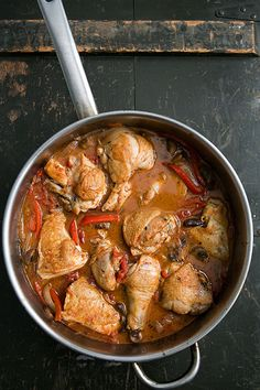 Chicken Cacciatore (Hunter Style Chicken) Recipe | Simply Recipes