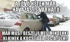 Felkészülés a hóesésre  :)