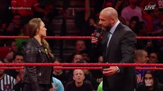 Ronda Rousey has signed her WWE Raw contract and then takes out Triple H