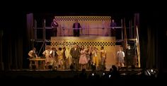 urinetown set design - Google Search