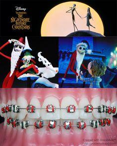 Get your #braces ready for #Christmas #nightmarebeforechristmas #jackskellington #pumpkinking #oogieboogie #sandyclaws #santaclaus #happyholidays #orthodontics #orthodontist #ортодонт #ортодонтия #brackets #ortodoncista #ortodoncia #ortodontia #ortodontista  #colour #bracescolors #xmas #xmasdecor #santa #timburton #disney #stopmotion #stopmotionanimation