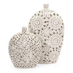 Lacey Vases.,, love it